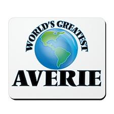 World's Greatest Averie Mousepad