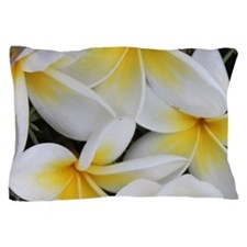 Yellow and White Magnolia Flower Bloss Pillow Case
