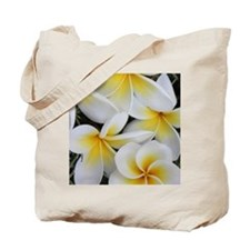 Yellow and White Magnolia Flower Blossoms Tote Bag