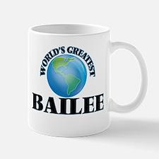 World's Greatest Bailee Mugs