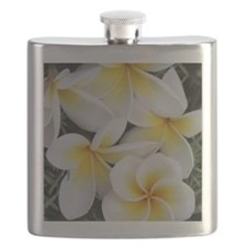 Yellow and White Magnolia Flower Blossoms Flask