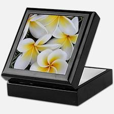 Yellow and White Magnolia Flower Blos Keepsake Box