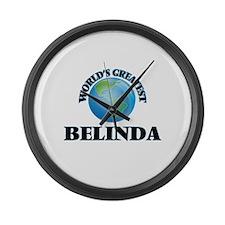 World's Greatest Belinda Large Wall Clock