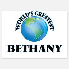 World's Greatest Bethany Invitations