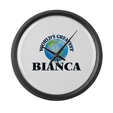 World's Greatest Bianca Large Wall Clock