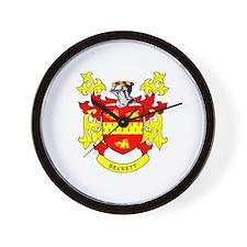 BECKETT Coat of Arms Wall Clock
