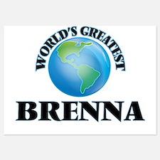 World's Greatest Brenna Invitations
