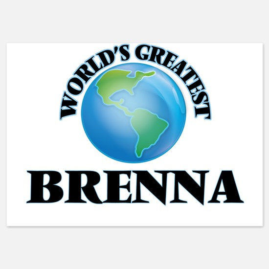 World's Greatest Brenna Invitations
