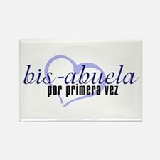Bis-Abuela, Blue Version Rectangle Magnet