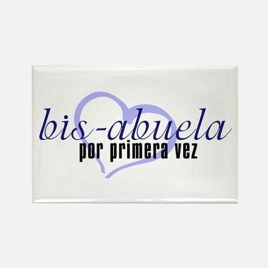 Bis-Abuela, Blue Version Rectangle Magnet