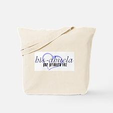 Bis-Abuela, Blue Version Tote Bag