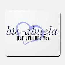 Bis-Abuela, Blue Version Mousepad