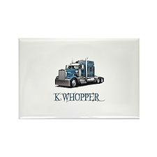 K Whopper Rectangle Magnet