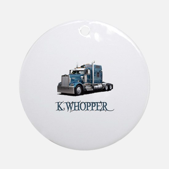 K Whopper Ornament (Round)