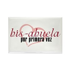 Bis-Abuela, Pink Version Rectangle Magnet