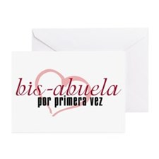 Bis-Abuela, Pink Version Greeting Cards (Package o