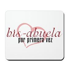 Bis-Abuela, Pink Version Mousepad