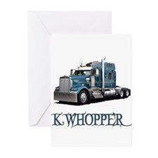 K Whopper Greeting Cards (Pk of 10)