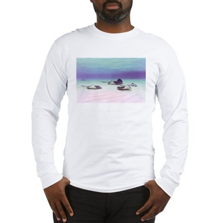 Stingrays at Grand Cayman Long Sleeve T-Shirt