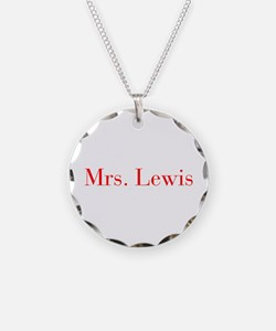 Mrs Lewis-bod red Necklace