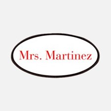 Mrs Martinez-bod red Patches