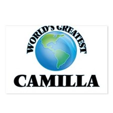 World's Greatest Camilla Postcards (Package of 8)