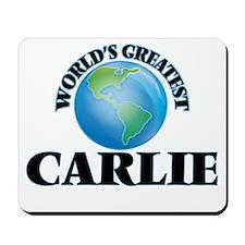 World's Greatest Carlie Mousepad