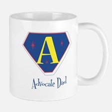 Advocate Dad (primary colors) Mug