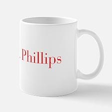 Mrs Phillips-bod red Mugs