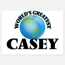 World's Greatest Casey Invitations