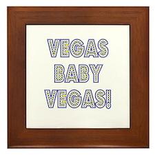 Vegas Baby Vegas! Framed Tile
