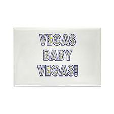 Vegas Baby Vegas! Rectangle Magnet