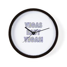 Vegas Baby Vegas! Wall Clock