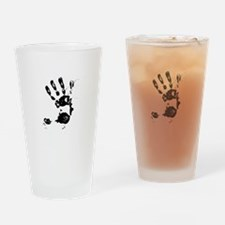 Give Me 5 Drinking Glass