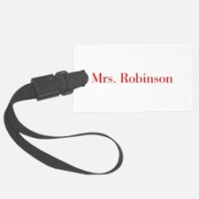 Mrs Robinson-bod red Luggage Tag