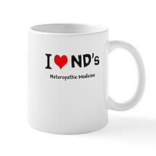 I Love NDs Mugs