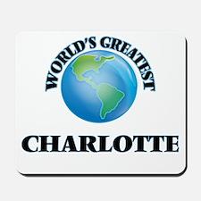 World's Greatest Charlotte Mousepad