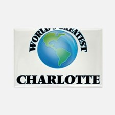 World's Greatest Charlotte Magnets