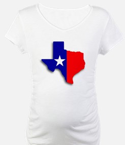 State Of Texas Shape Shirt