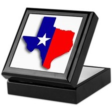 State Of Texas Shape Keepsake Box