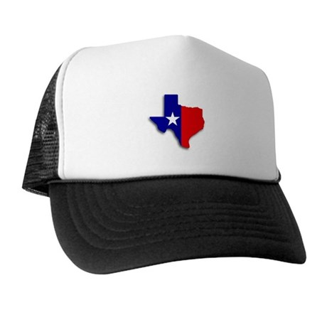 State Of Texas Shape Trucker Hat