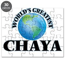 World's Greatest Chaya Puzzle