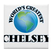 World's Greatest Chelsey Tile Coaster