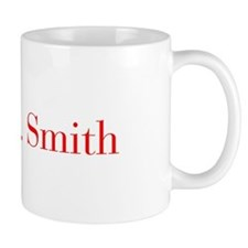 Mrs Smith-bod red Mugs