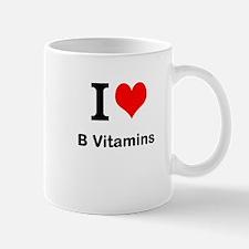 I Love B Vitamins Mugs