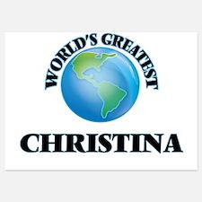 World's Greatest Christina Invitations