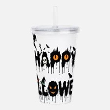 Happy Halloween Acrylic Double-wall Tumbler
