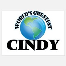 World's Greatest Cindy Invitations