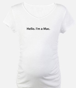 Hello. I'm a Mac Shirt
