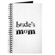 Bride's Mom Journal